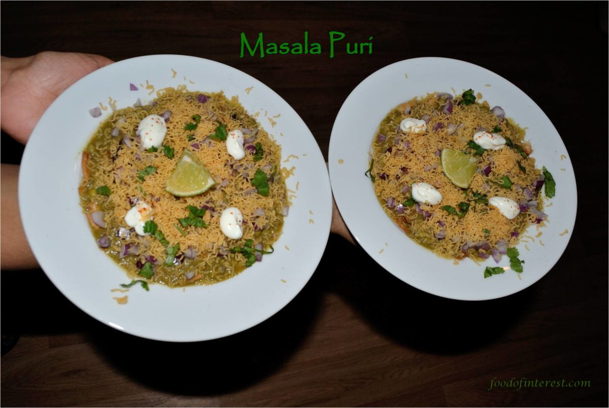 Masala Puri | Bangalore style masalpuri | Chaat Recipes