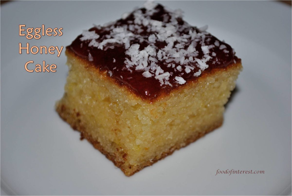 Eggless Honey Cake