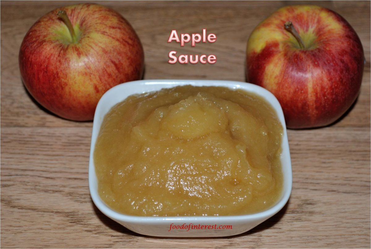 Homemade Apple Sauce | How to make apple sauce?