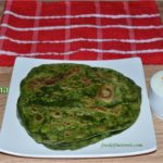 Palak Paratha | How to make palak paratha? | Paratha Recipes