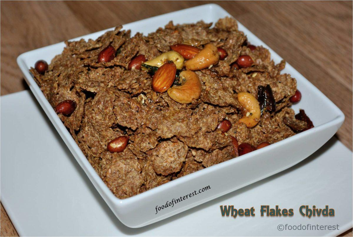 Whole Wheat Flakes Chivda | Flakes Chivda | Chivda Recipes