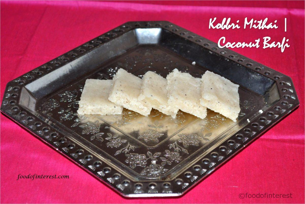 Kobbri Mithai | Coconut Barfi | Sweet Recipes