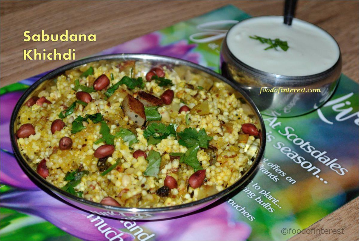 Sabudana Khichdi | Sabudani Khees | Fasting Recipes