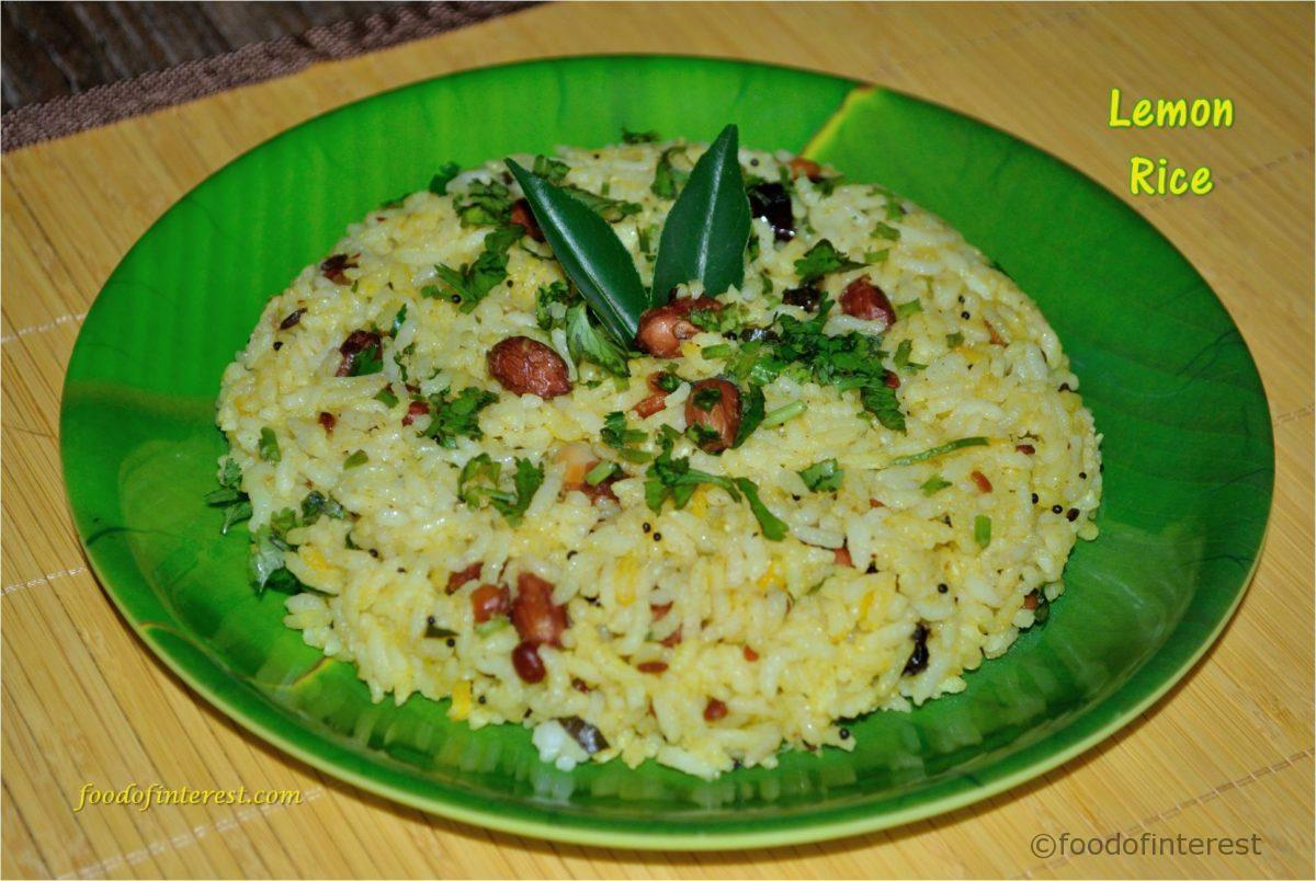 Lemon Rice | Nimbehannina Chitranna | Bhaat Recipes