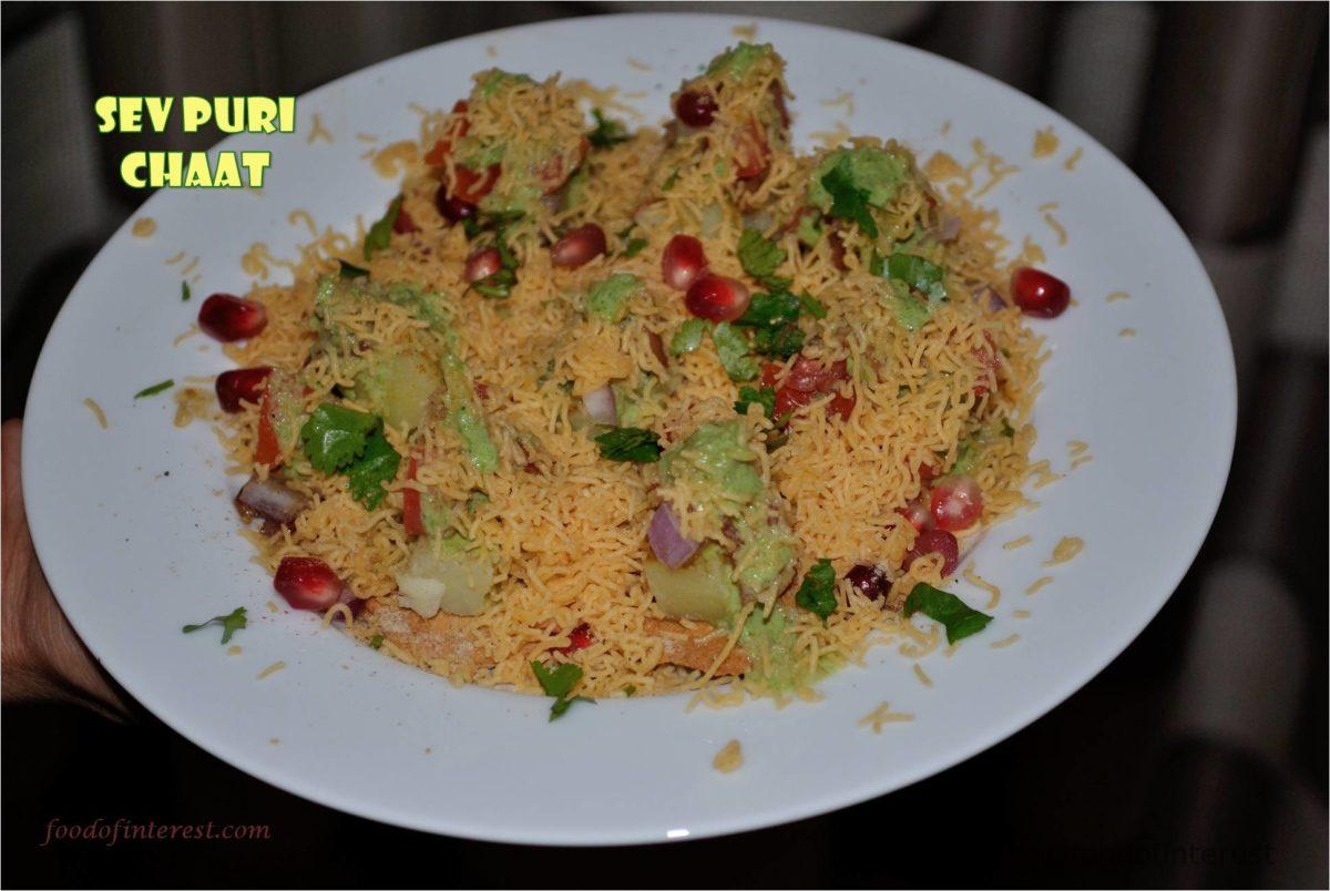 Sev Puri Chaat | Sev Puri | Chaat Recipes