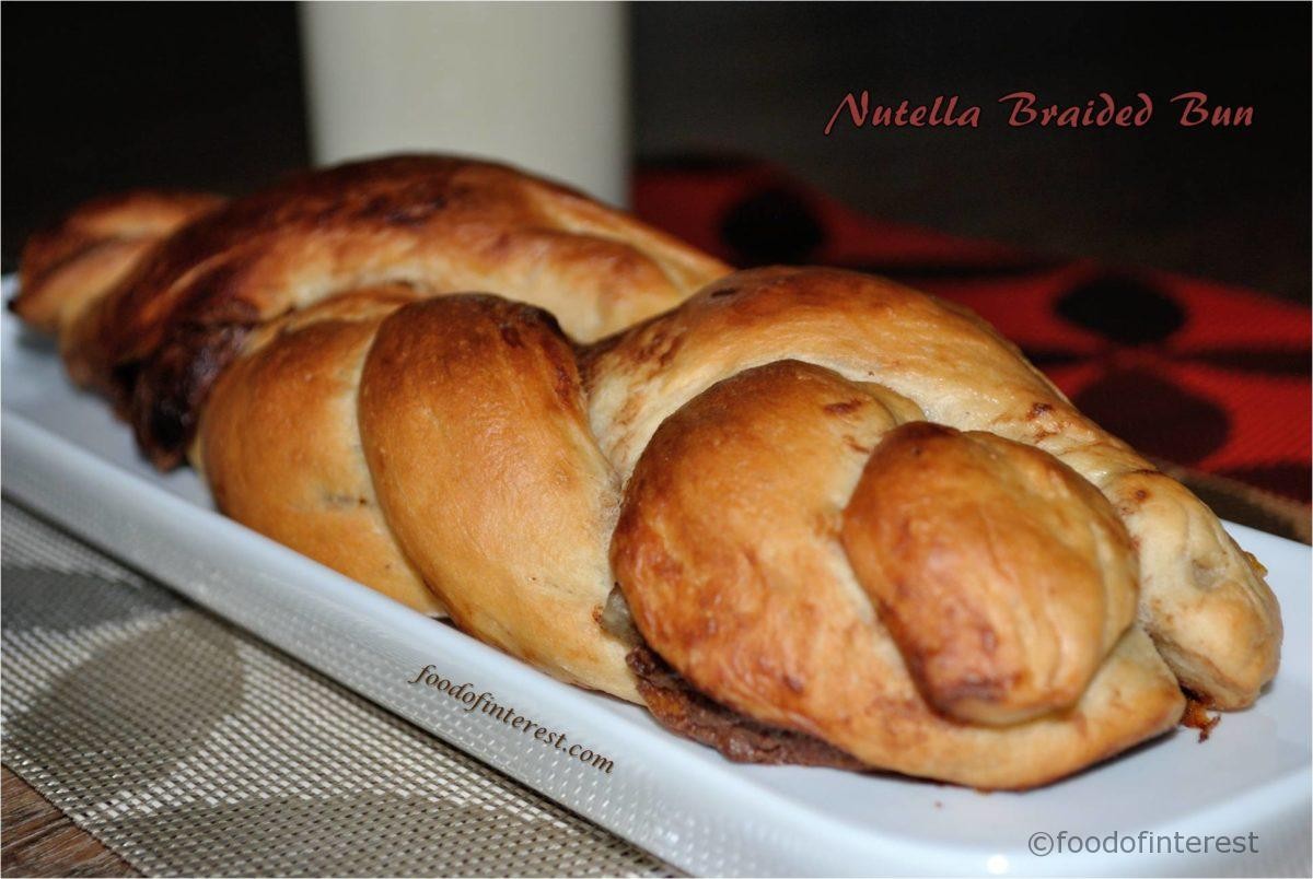 Nutella Braided Bread | Chocolate Bread | Bread Recipes