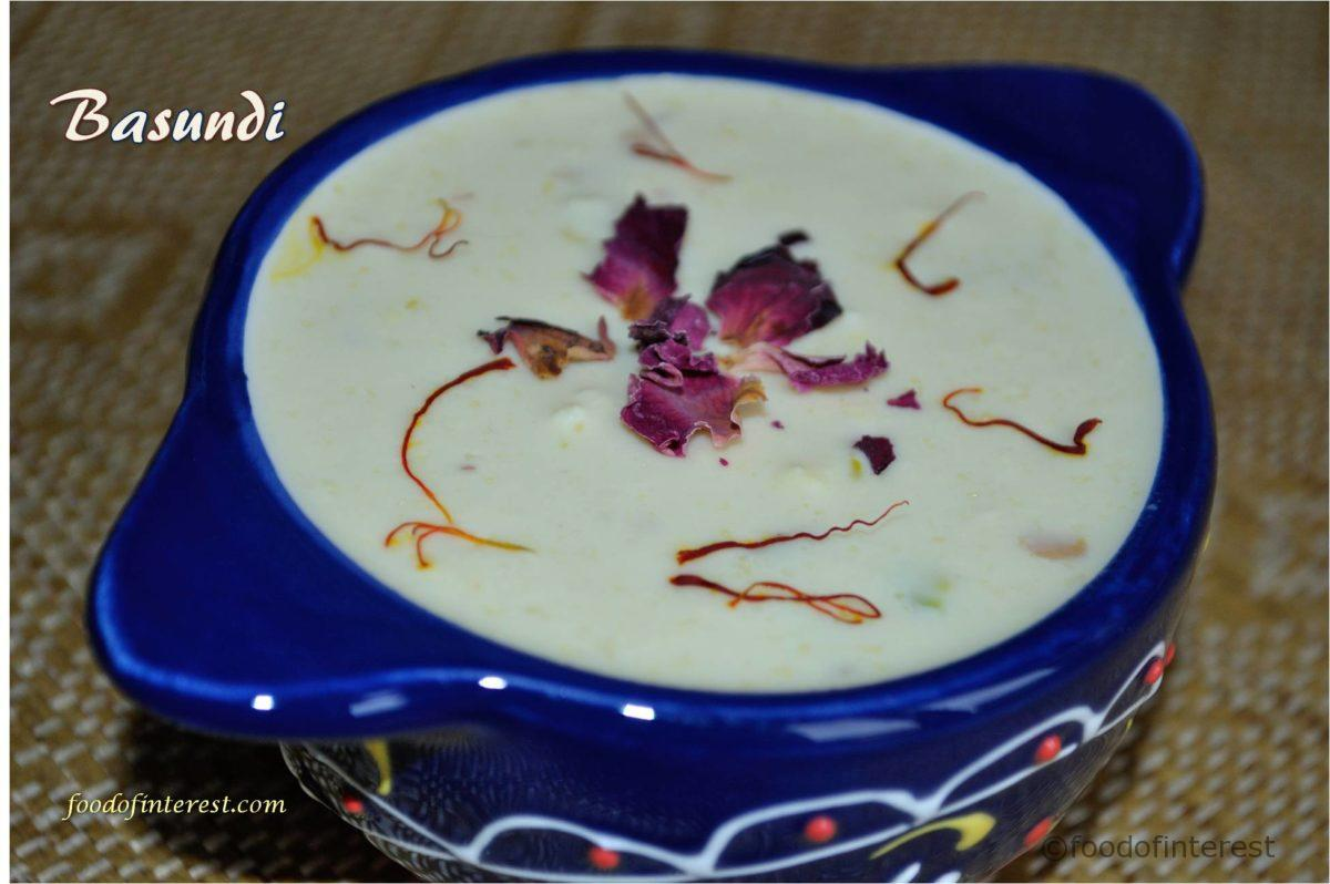 Basundi | Homemade Basundi | Sweet Recipes